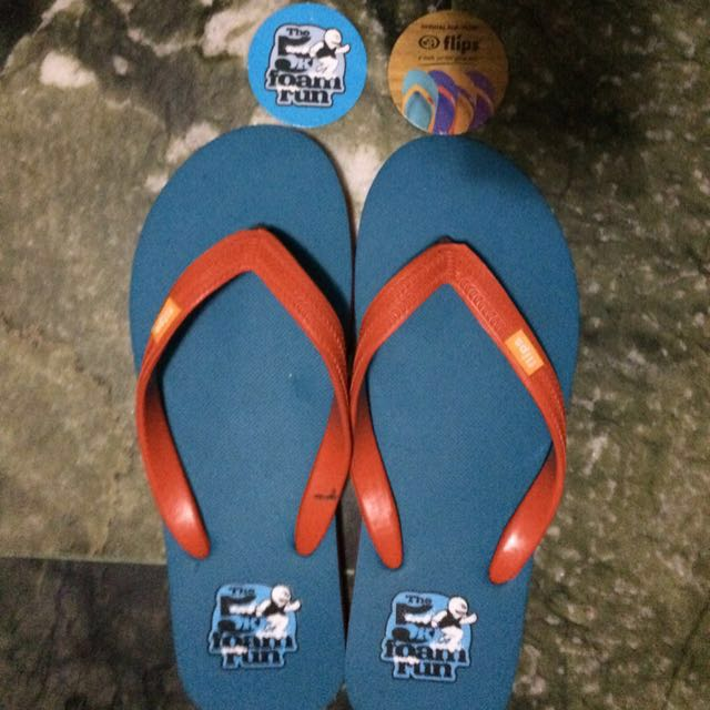 8713ea62be2ee BRAND NEW 5K Foam Run Flip Flops