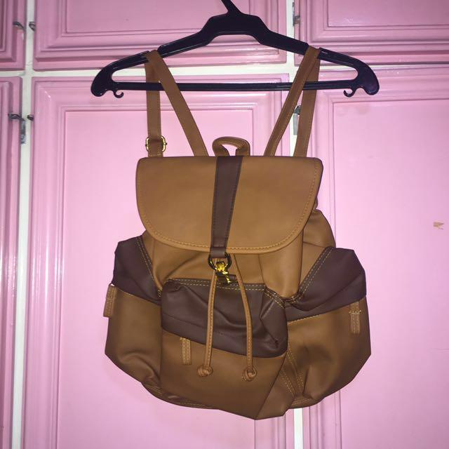 BRAND NEW Brown Backpack / Rucksack