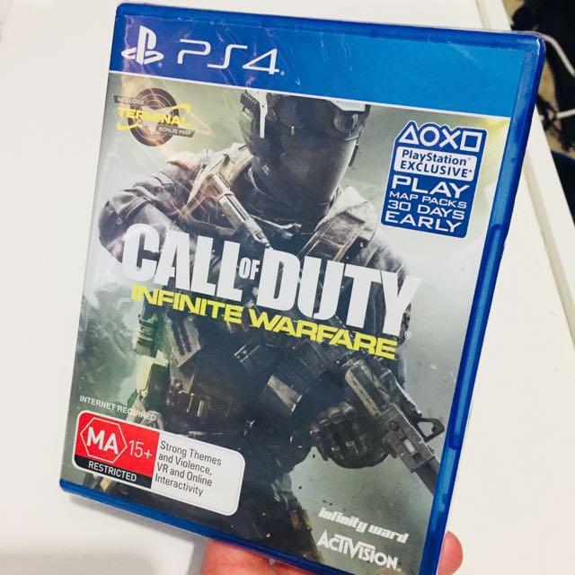 ...:::**BRAND NEW Call Of Duty: Infinity Warfare**:::...