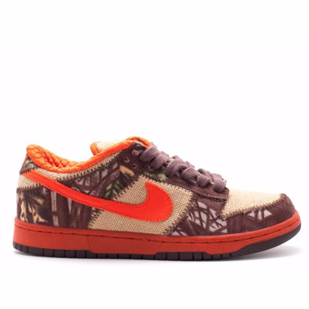 new styles 3622a 17ce7 BRAND NEW SALE  Nike Dunk Low Pro SB (Natural Burlap Orange Blaze ...