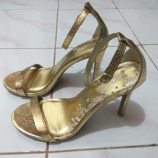Brash heels gold 37