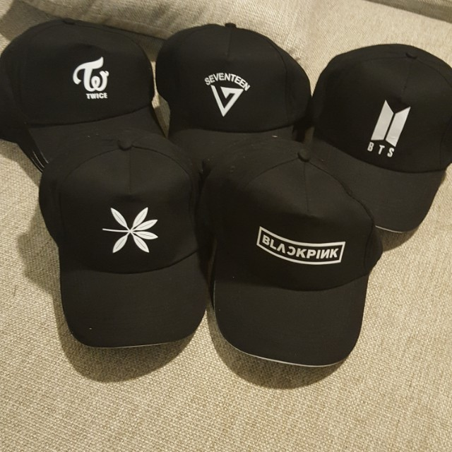 BTS / EXO / SEVENTEEN / TWICE / BLACKPINK CAPS ~ READY STOCK