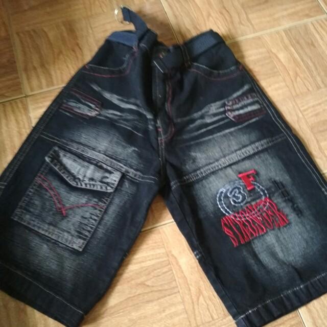 Celana pendek jeans ansk