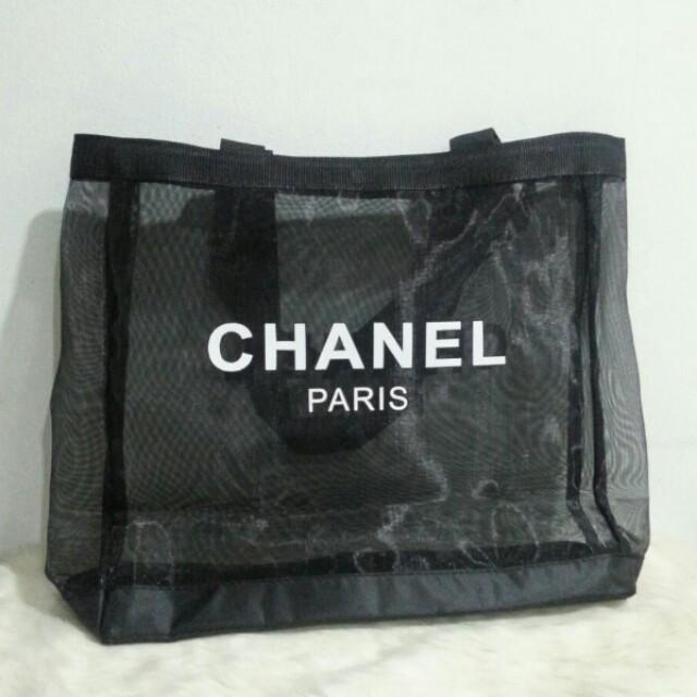 3a83c6c16c56e Chanel Transparent Tote Bag