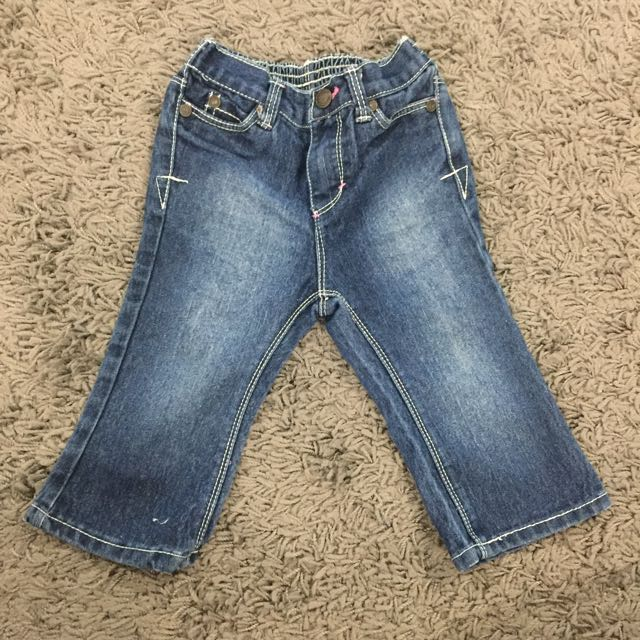 Cherokee jeans with embroidery detail