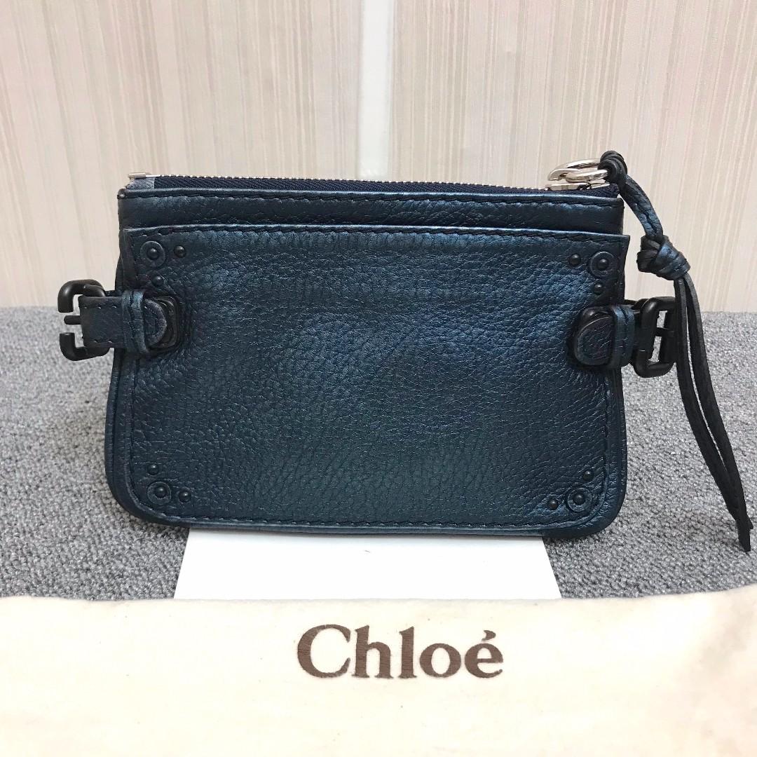 CHLOE 靛藍色手拿包