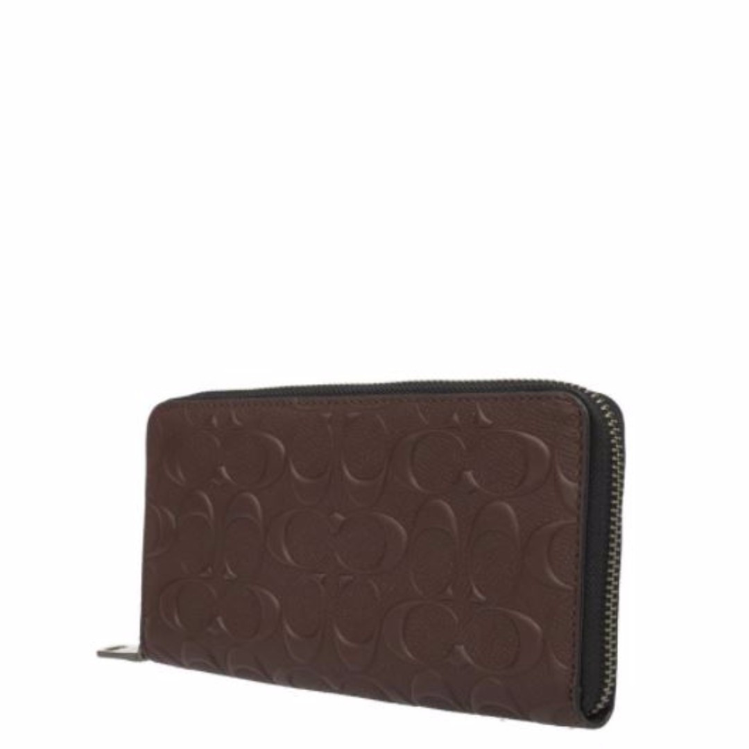 210e28112fa4 COACH F58113 ACCORDION WALLET IN SIGNATURE CROSSGRAIN LEATHER ...