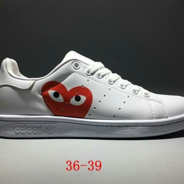 big sale 4d543 a0c0c Comme des Garçons X Adidas Stan Smith, Women's Fashion ...