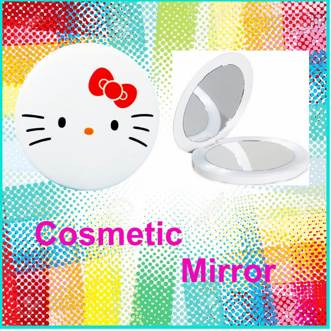 Promotion until 10/02/2018 24 type design COSMETIC MIRROR/ POCKET MIRROR/ CUTE DESIGN MIRROR/ BIRTHDAY CHILDREN GIFT (FOLDING DOUBLE-SIDED)