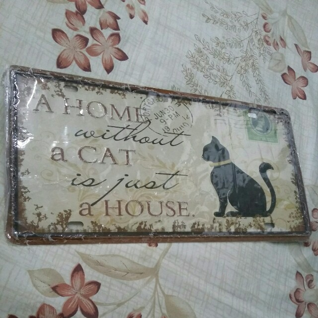 Decorative Tin Plate
