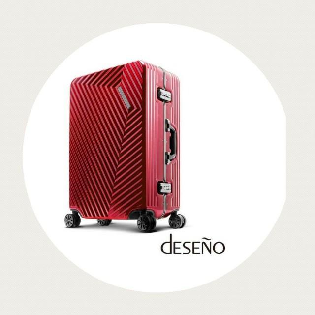deseno索特2 20吋行李箱加贈盥洗包一個