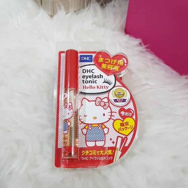 DHC lash serum Hello Kitty special edition