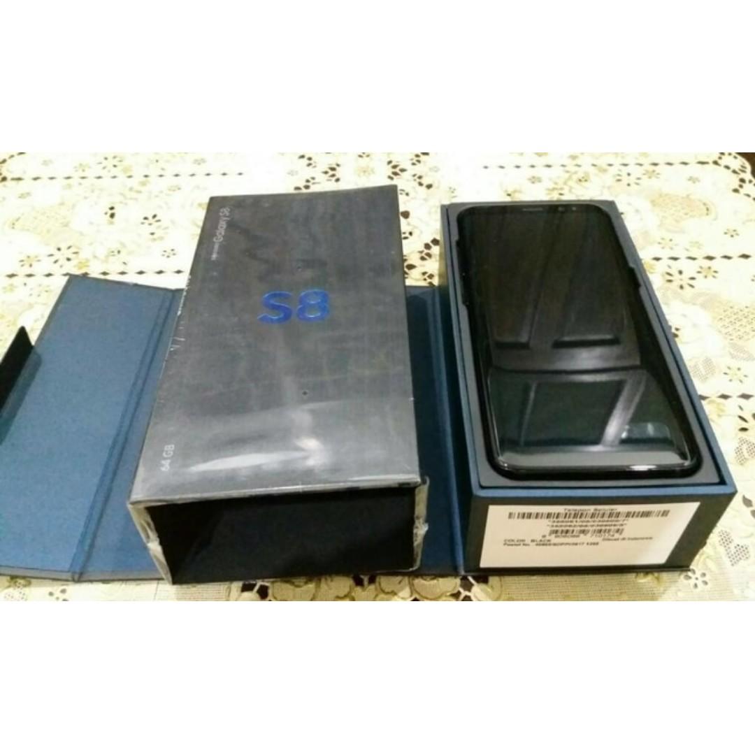 Dijual cepat!! Samsung S8 Black (4/64) SEIN dual SIM