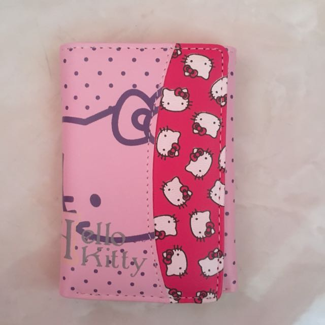 Dompet hello kitty pink