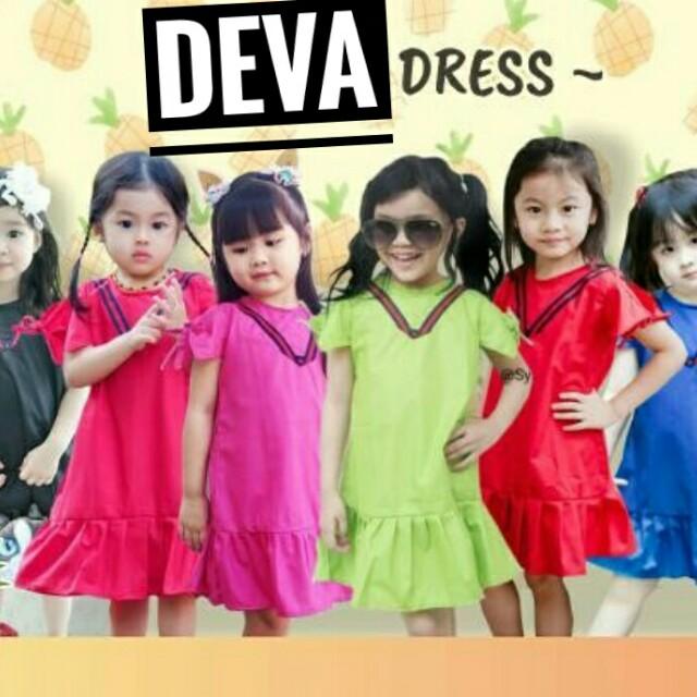 Dress anak | DEVA DRESS