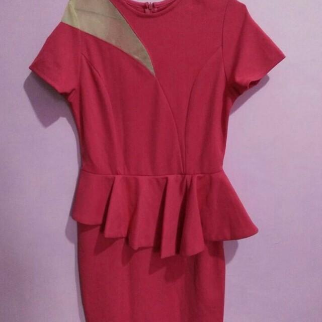 Dress pink fanta
