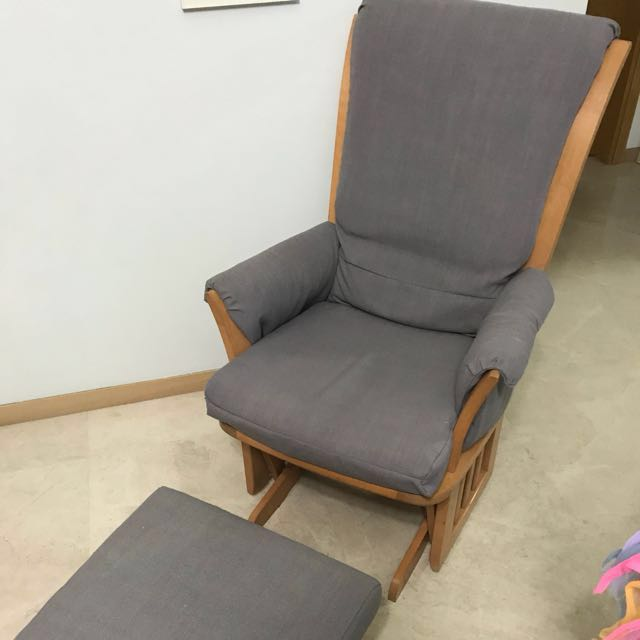 photo photo ... & Dutailier Glider and Ottoman. Rocking / Gliding / Nursing Chair on ...