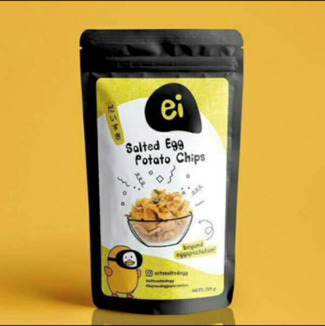 Ei Potato Chips Salted Egg