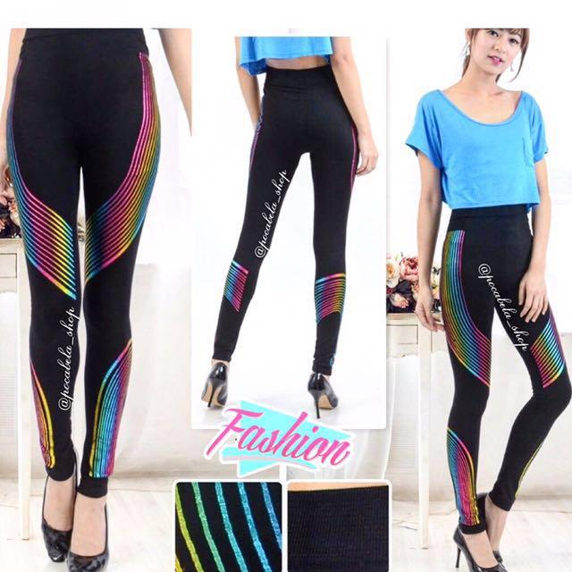 Emily Rainbow Leggings