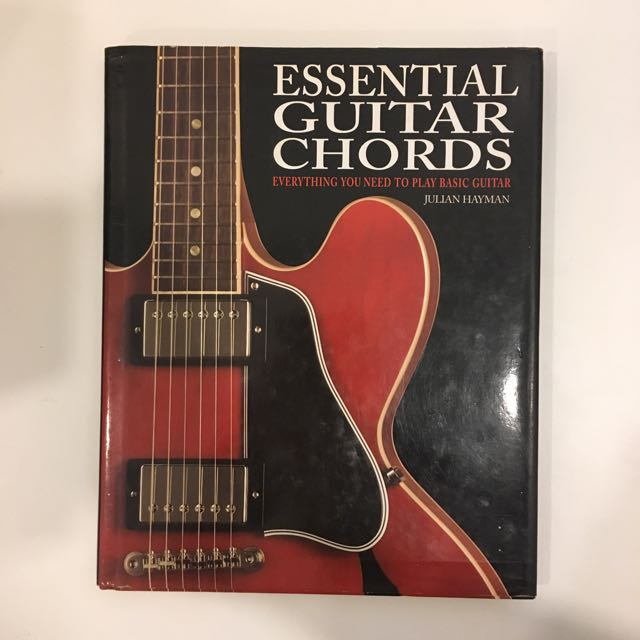 Essential Guitar Chords: Everything You Need to Play Basic Guitar by ...