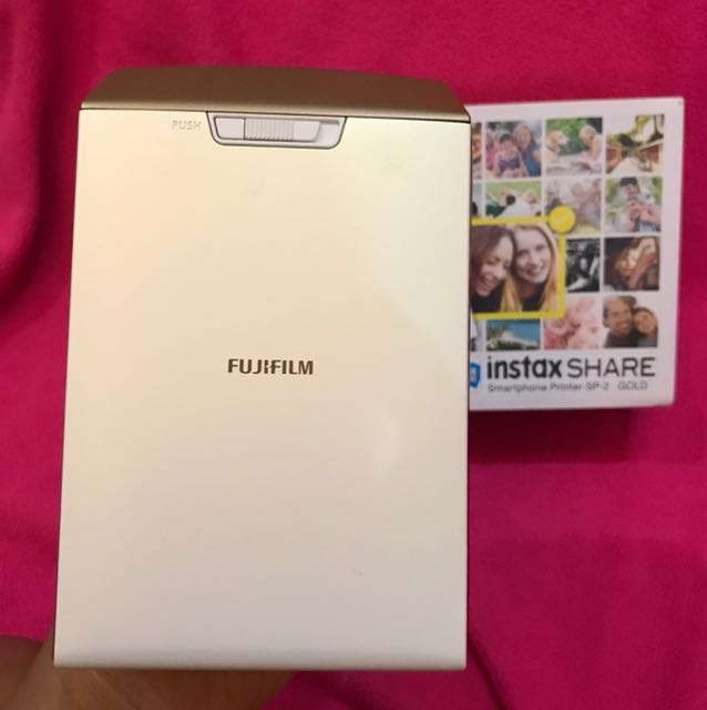 Fujifilm Instax Share SP 2 Gold