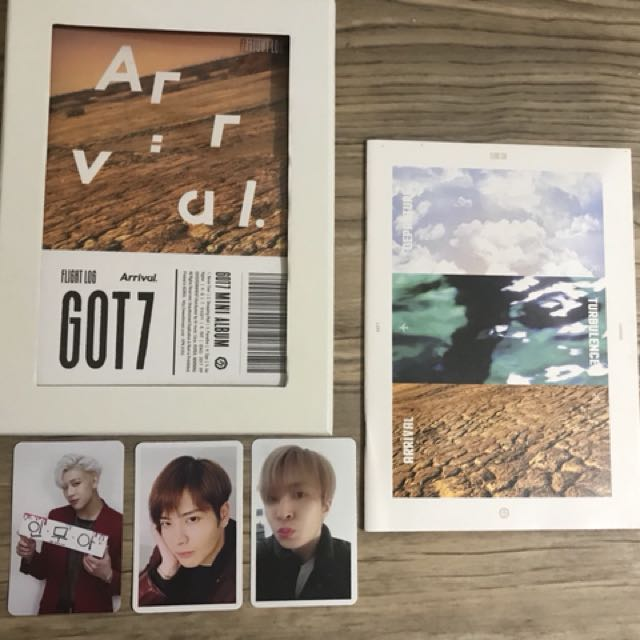 GOT7 Flight Log: Arrival Albums