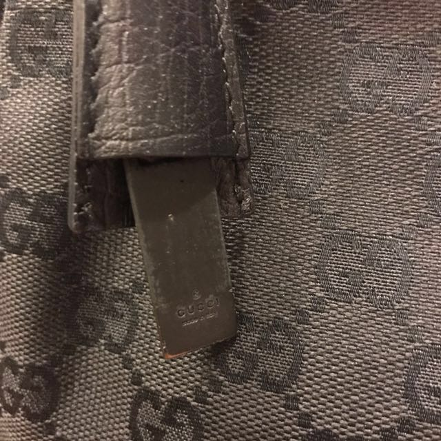 039579b28cad39 Gucci Monogram GG Canvas Wood Handle Hobo Bag, Luxury, Bags & Wallets on  Carousell