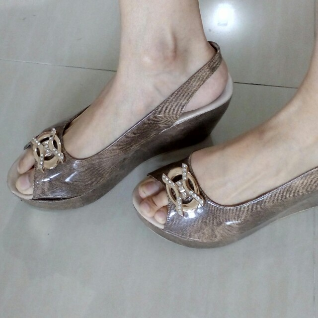 Heels mix brown gilap