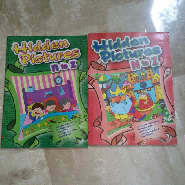Hidden Pictures Build Vocabulary Books Stationery Children S
