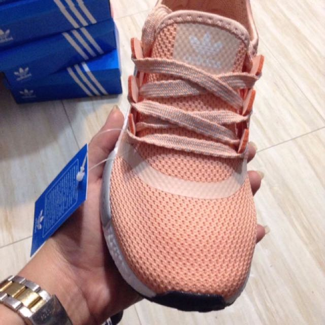 High end Class A ADIDAS NMD SALMON PINK made in vietnam 9823507e204b