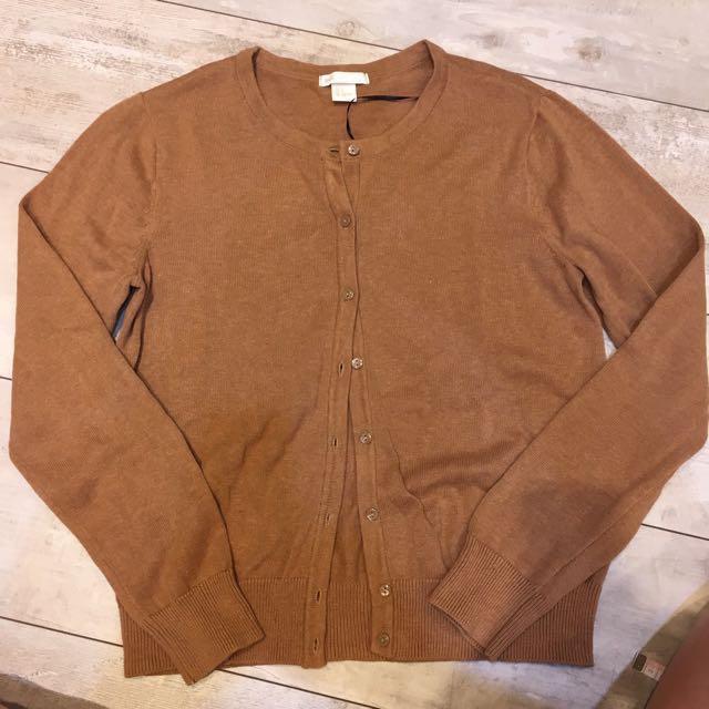 H&M 針織棉小外套