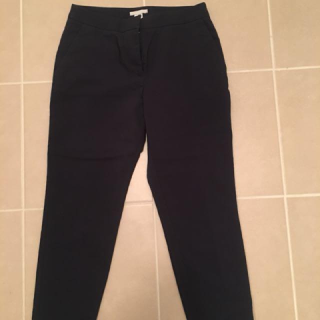 H&M Navy Blue Pants