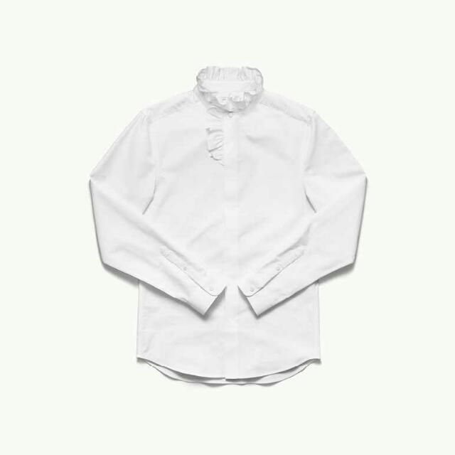 收H&M X ERDEM此件白襯衫