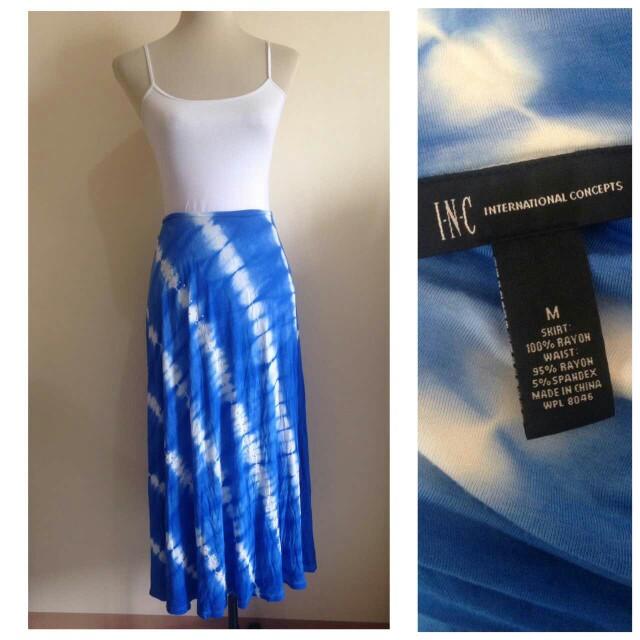 INC Long Skirt Medium