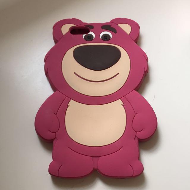 iphone6 Losto Bear Case草莓熊抱哥手機殼