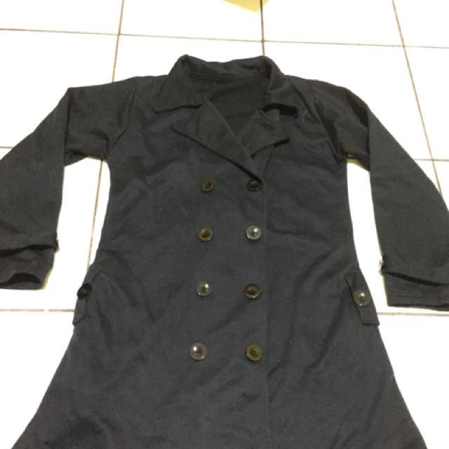 Jaket Fleece Dark Navy