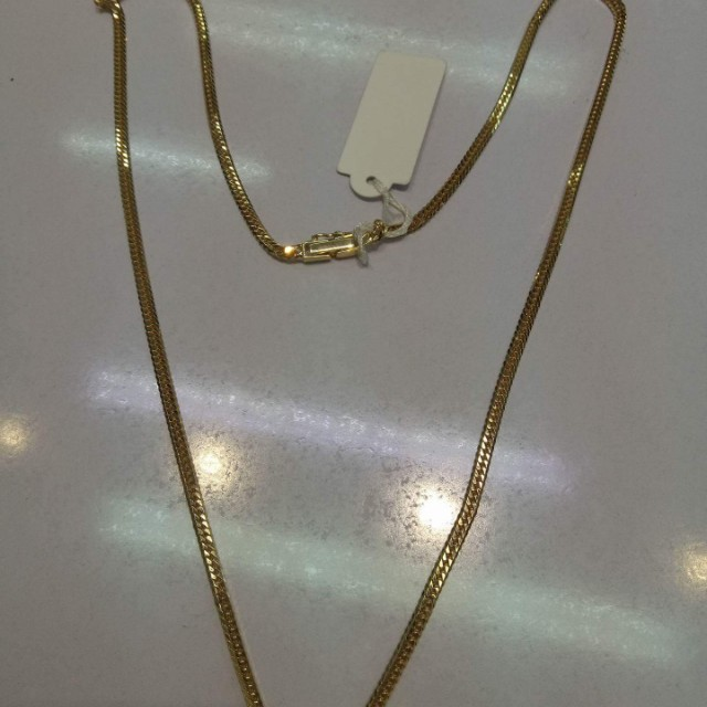 Japan Gold 18k Necklace 10cut 11.7grams
