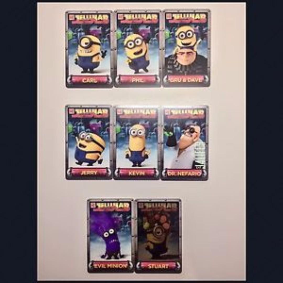 ea405fad9b Jelly Lab Despicable Me Minion Cards