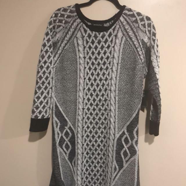 Jessica Size Medium Sweater Dress