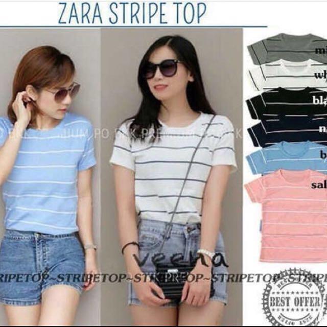 Kaos / atasan / blouse / branded zara