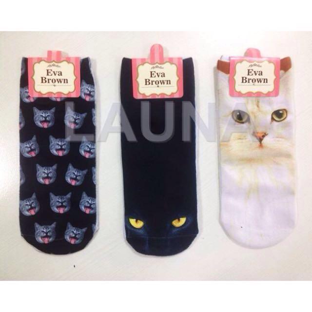 kaos kaki cat import ready stock
