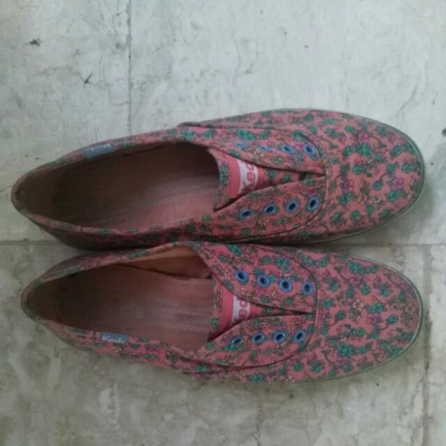 Floral Keds Shoes