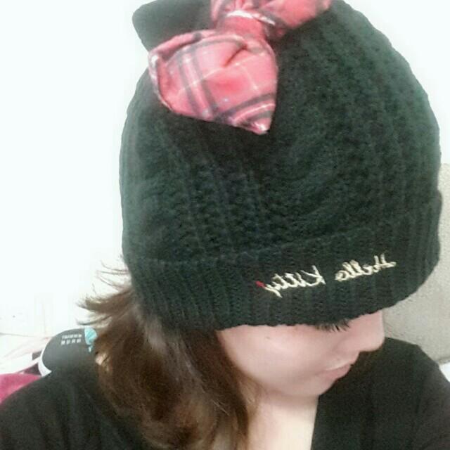 日本Kitty毛帽