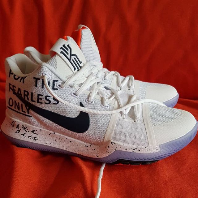 sports shoes 202af 13c45 Kyrie 3 For The Fearless Only NIKE SHOES❤️❤️, Men's ...