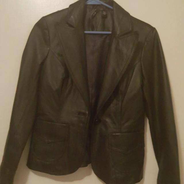 Leather Jacket M