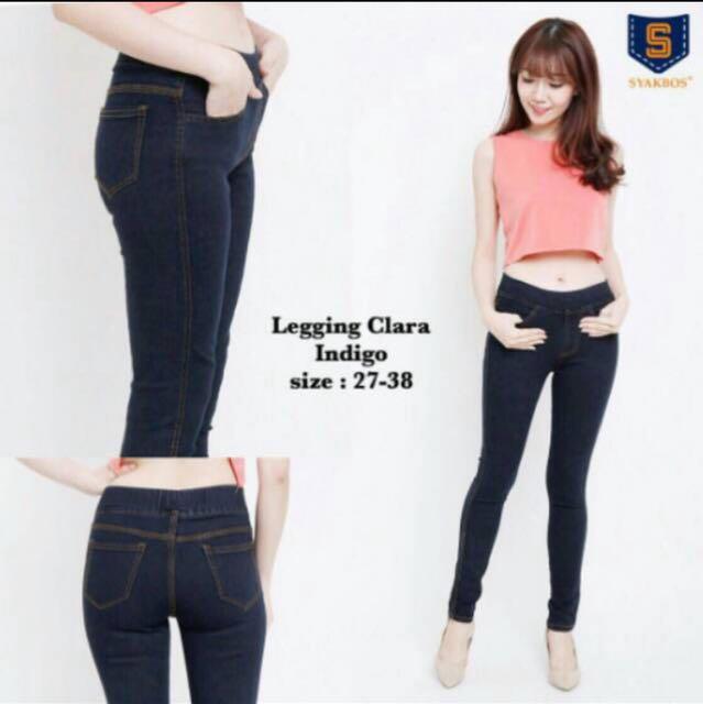 Leging Jeans Tebal