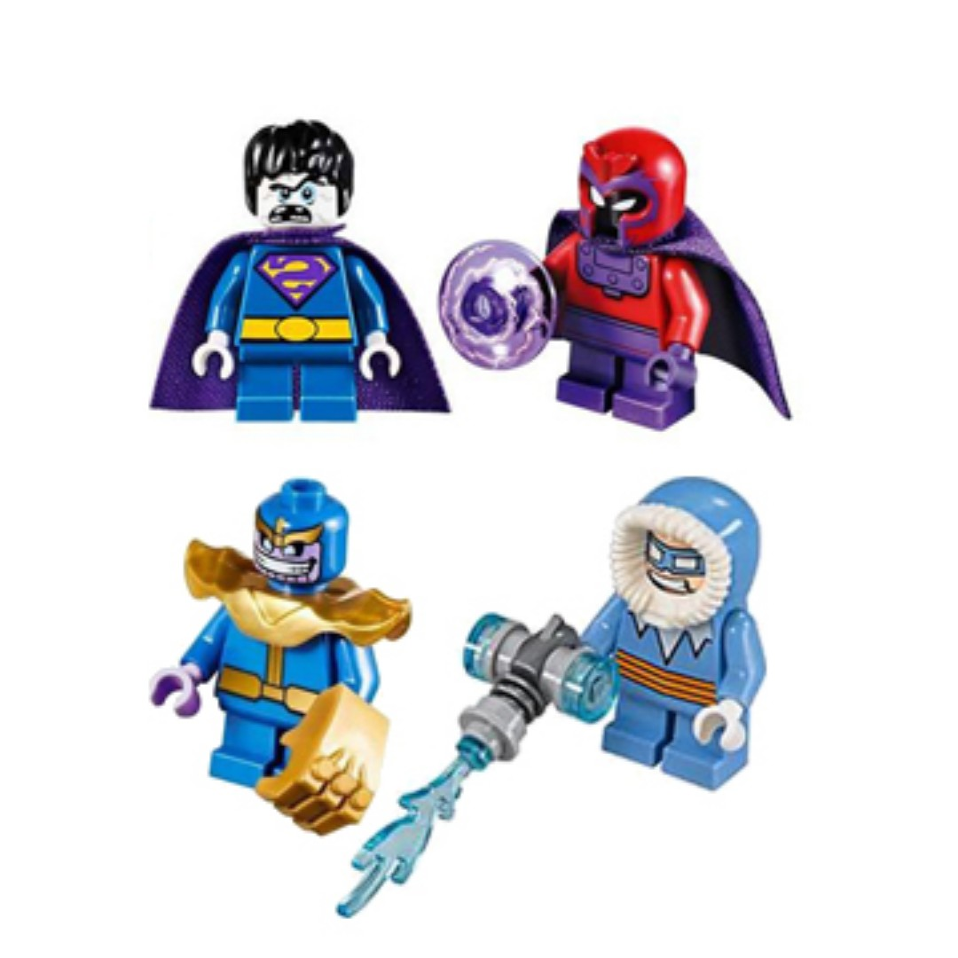 LEGO Mighty Micros vilains minifigures