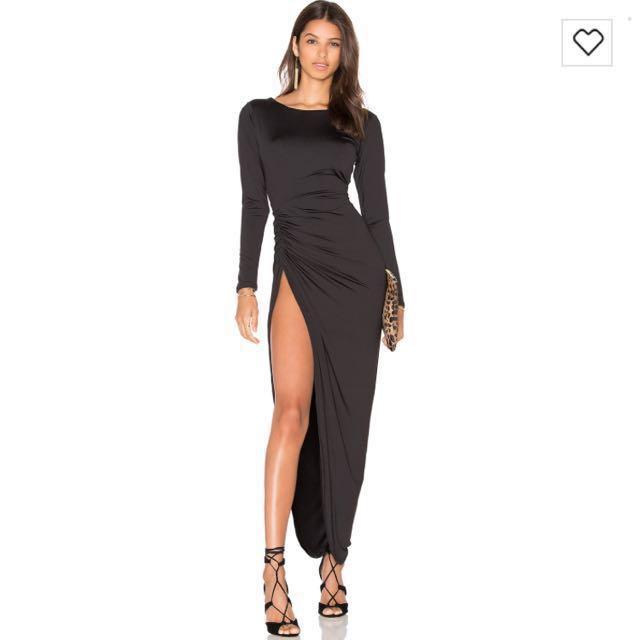 LIONESS Amore Split Maxi Dress