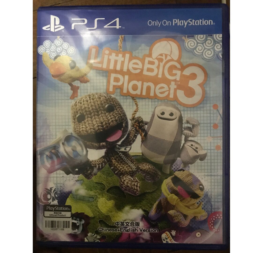 Little Big Planet 3 For Ps4 Toys Games Video Gaming Photo