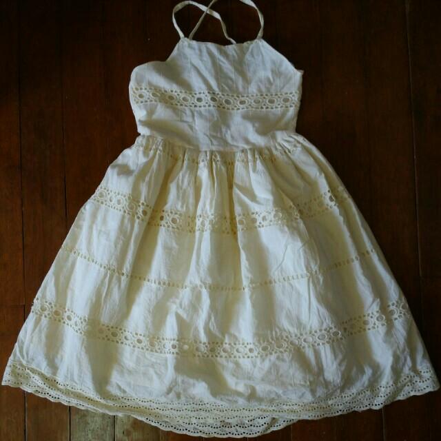 Little Miss Yellow Dress